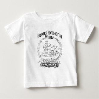Alco -Brooks Locomotive Works Logo 1899 Baby T-Shirt