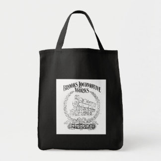 Alco -Brooks Locomotive Works Logo 1899 Bag