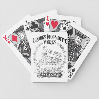 Alco -Brooks Locomotive Works Logo 1899 Cards Bicycle Playing Cards