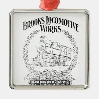 Alco - Brooks Locomotive Works Logo 1899 Ornaments