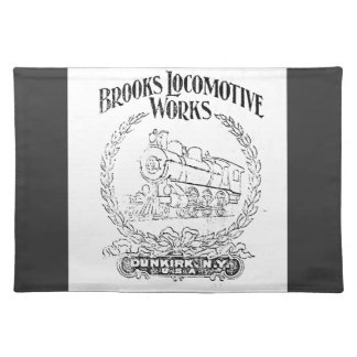 Alco - Brooks Locomotive Works Logo 1899 Placemat