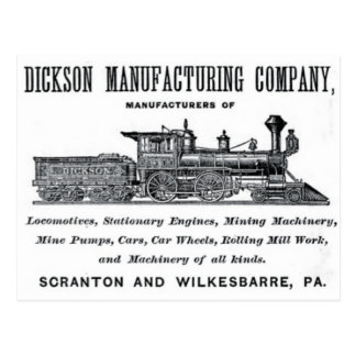 Alco - Dickson Manufacturing Company 1856 Postal