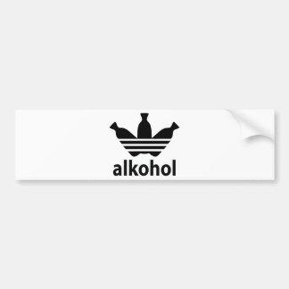 Alco-get/alcohol Bumper Stickers