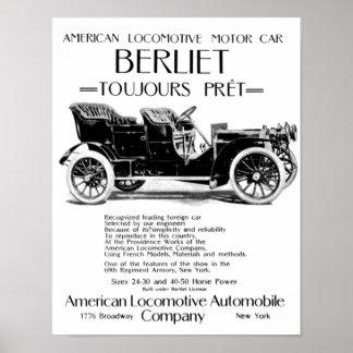 Alco Locomotive Works - ALco Car Company Poster