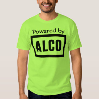 ALCO - Powered by Alco Locomotive Company Tee Shirt