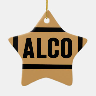 ALCO Powered by American Locomotive Company Ceramic Ornament