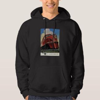 ALCO Rock Island Lines 1941 Men's Hoodies