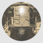 Alco S-4 Locomotive Round Sticker