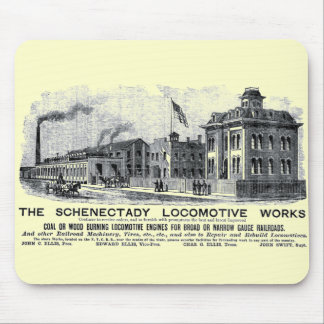 Alco-Schenectady Locomotive Works, 1870 Mouse Pad