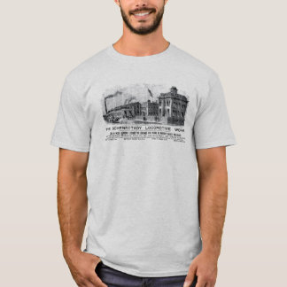 Alco-Schenectady Locomotive Works, 1870 T-Shirt