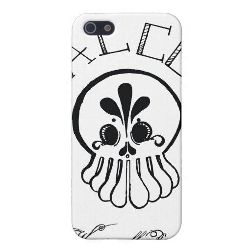 """ALCO-Squid, """"We are all pirates"""" Case For iPhone 5"""