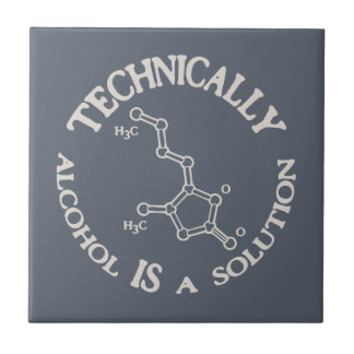 Alcohol, A Solution Tile