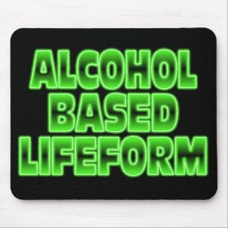 Alcohol Based Lifeform. Mouse Pad