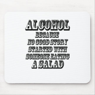 ALCOHOL - Because Mouse Pad