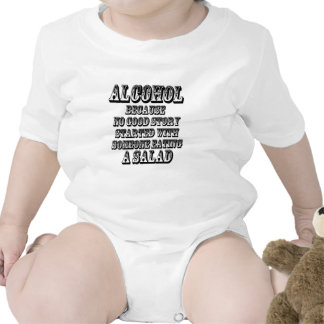 ALCOHOL - Because Baby Bodysuit