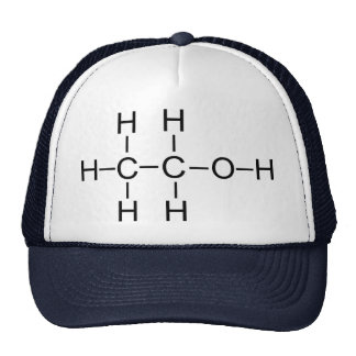 Alcohol - Chemical Formula Trucker Hat