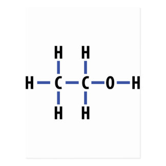 alcohol compound postcard