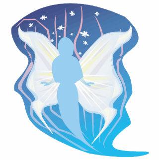 alcohol con alas del faerie de la ninfa fotoescultura vertical