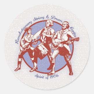 Alcohol de 1976 pegatina redonda