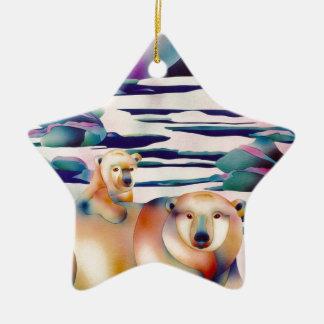 Alcohol de Alaska Ornamentos De Navidad
