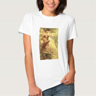 Alcohol de Alfonso Mucha de la camiseta de la Camisas