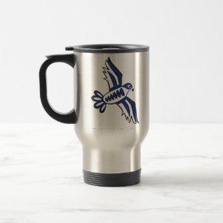 Alcohol de fundación del halcón taza de viaje de acero inoxidable