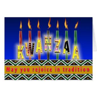 Alcohol de Kwanzaa Felicitaciones