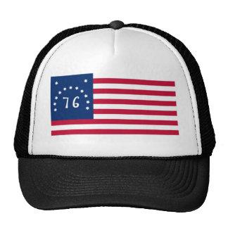 Alcohol de la bandera de Estados Unidos Bennington Gorras De Camionero