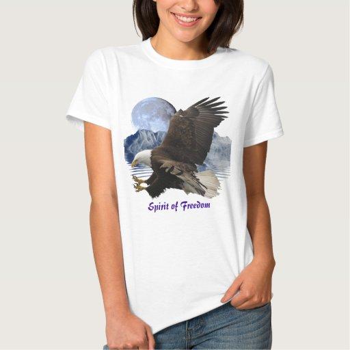 ALCOHOL de la camisa de la fauna de Eagle calvo de