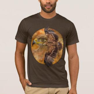 Alcohol de la camiseta de Eagle del viento