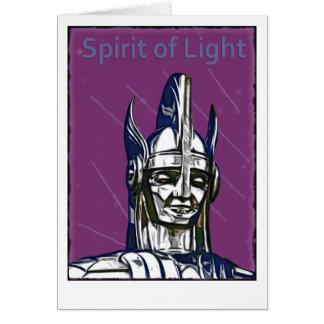 Alcohol de la luz tarjetas
