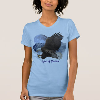 ALCOHOL de la ropa de la fauna de Eagle calvo de l Camiseta