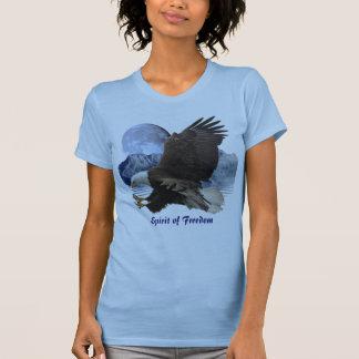 ALCOHOL de la ropa de la fauna de Eagle calvo de Playera