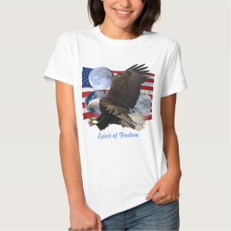 ALCOHOL de la ropa de la fauna de Eagle calvo de Playeras