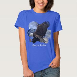 ALCOHOL de la ropa de la fauna de Eagle calvo de Poleras
