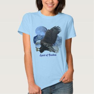 ALCOHOL de la ropa de la fauna de Eagle calvo de Remera