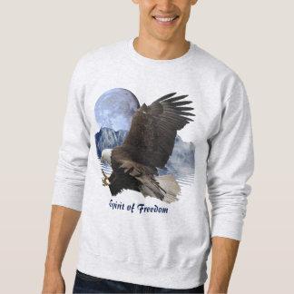 ALCOHOL de la ropa de la fauna de Eagle calvo de Sudadera