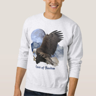 ALCOHOL de la ropa de la fauna de Eagle calvo de Sudadera Con Capucha