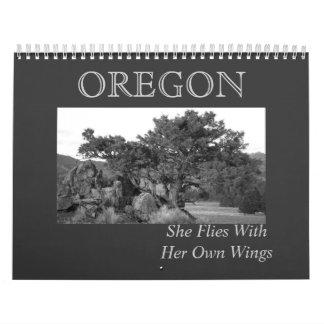 Alcohol de Oregon Calendarios