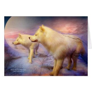 Alcohol de White Wolf ArtCard Felicitaciones