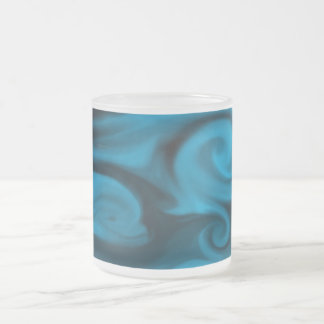 Alcohol del agua taza de café esmerilada
