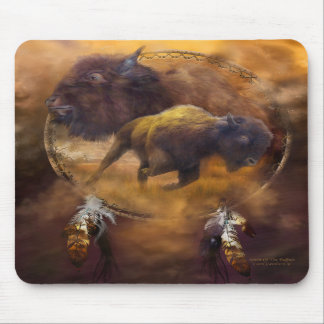 Alcohol del arte Mousepad del búfalo de Brown