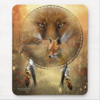 Alcohol del arte Mousepad del Fox rojo