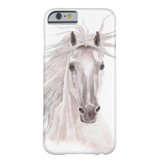 Alcohol del caballo del viento - vendimia funda de iPhone 6 barely there
