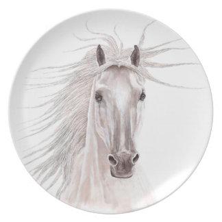 Alcohol del caballo del viento - vendimia plato