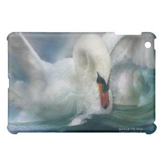 Alcohol del caso del arte del cisne para el iPad