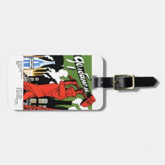 Alcohol del choque etiquetas bolsas