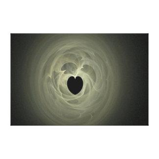 Alcohol del corazón impresión en lienzo estirada