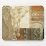 Alcohol del elefante alfombrillas de raton