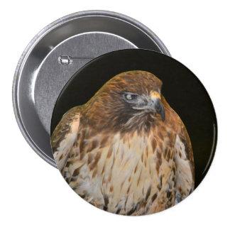 Alcohol del halcón pin redondo de 3 pulgadas